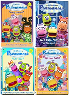 Jim Henson's Pajanimals: TV Series DVD Collection - Episodes + Songs + More!