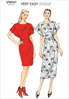 db8f2ab930 Butterick Patterns 9021 E5 - Patrones para vestidos de mujer (tallas 42 a  50)