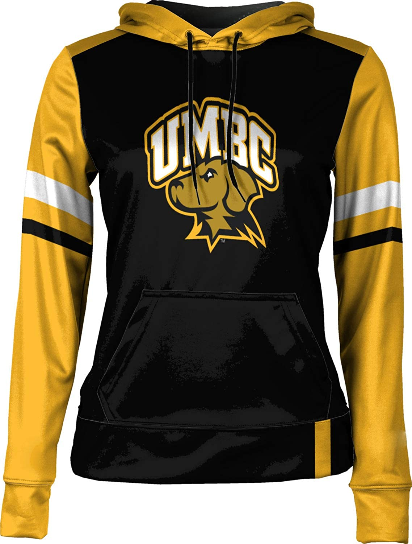 ProSphere University of Maryland Baltimore County Girls' Pullover Hoodie, School Spirit Sweatshirt (Old School)