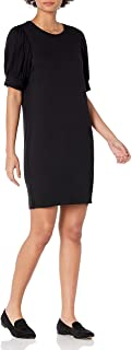 Amazon Brand - Daily Ritual Women's Supersoft Terry Relaxed-Fit Puff-Sleeve Dress