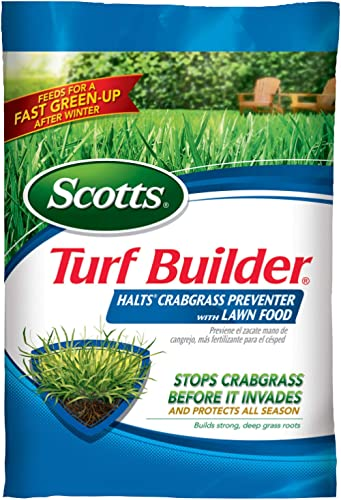 Scotts Turf Builder Halts Crabgrass Preventer with Lawn Food, 15,000 sq. ft.