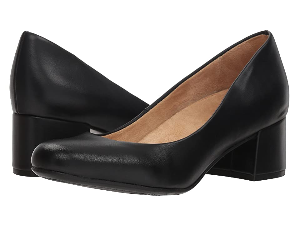 Naturalizer Donelle (Black Smooth Synthetic) Women