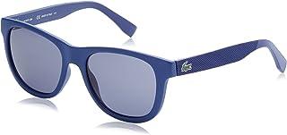 نظارة شمسية للجنسين لون العدسات رمادي L848S 32890 424-54 -18-140، اطار مستطيل، من لاكوست
