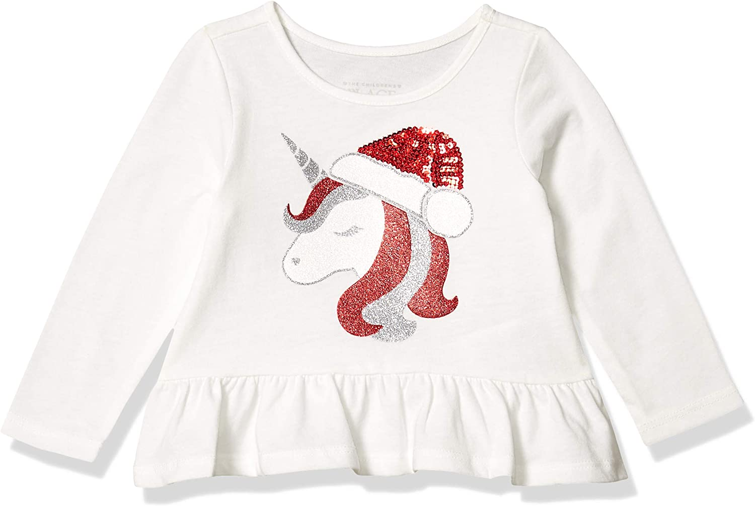 The Children's Place Baby Girls Christmas Top