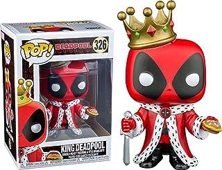 Funko Pop Marvel: Figura coleccionable de King Deadpool, multicolor