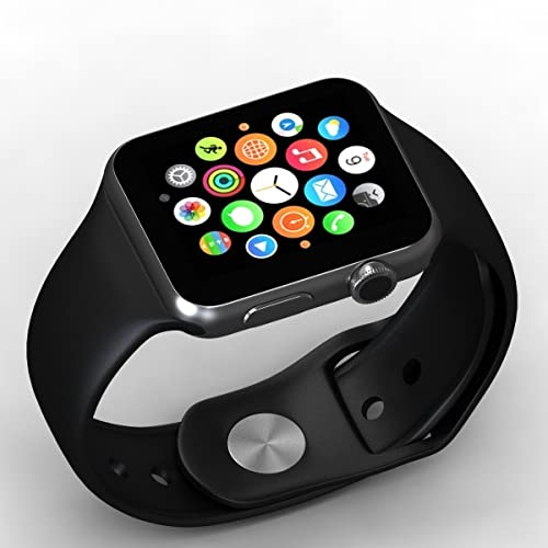 Rewy Heypex Unisex Bluetooth Smartwatch with 4G SIM Card Support/Touch Screen/Built in Camera
