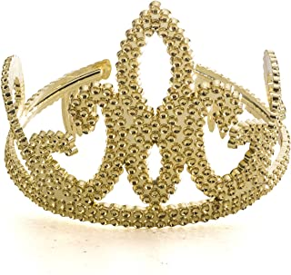 Funny Party Hats Gold Tiara Crown - Homecoming Queen Crown - Crown and Tiara - Queen Tiara