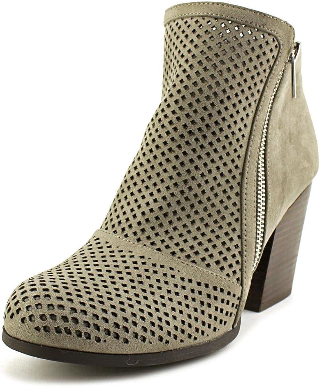 Bar III Womens Penny Fabric Closed Toe Ankle Fashion, Nimbus Grey, Size 8.5