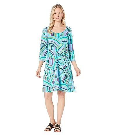 Fresh Produce Sundrenched Dalia Dress (Bluefin) Women