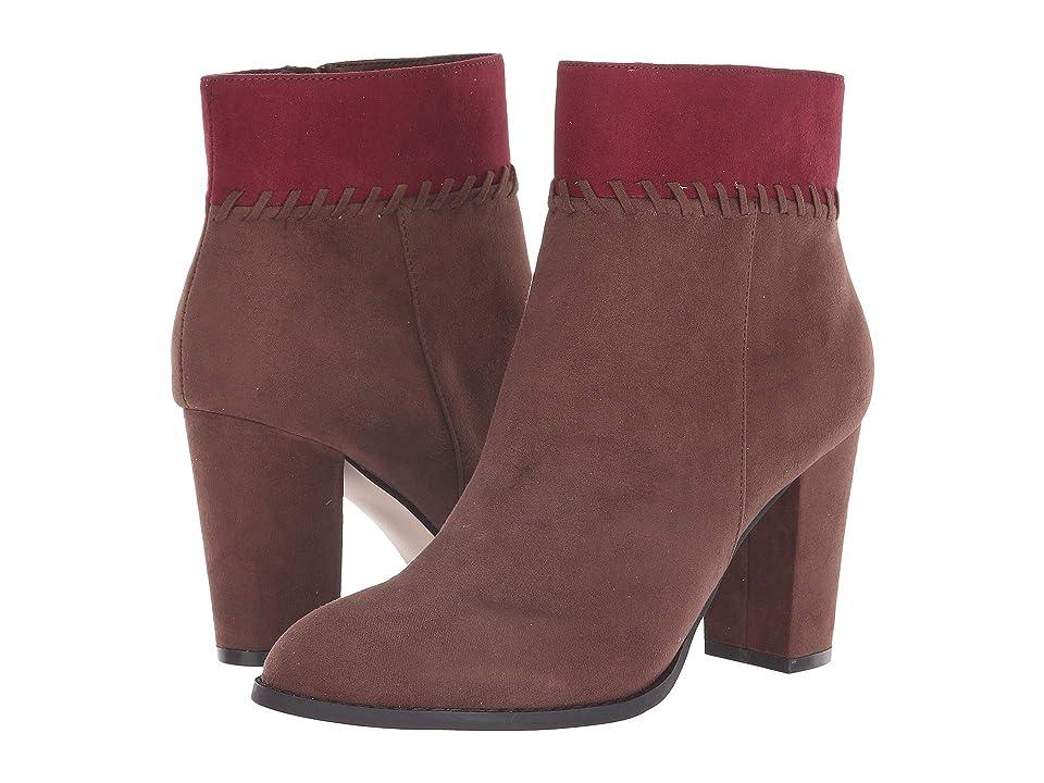 Athena Alexander Nantes Boot (Cognac/Wine Suede) Women