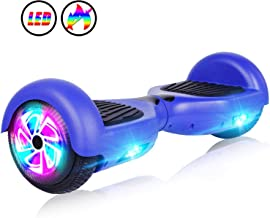 "JOLEGE Hoverboard, 6.5"" Two-Wheel Self Balancing Hoverboards – LED Light Wheel.."