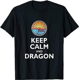 Keep Calm Dragon Funny Dragon Boat Racing Festival T-shirt