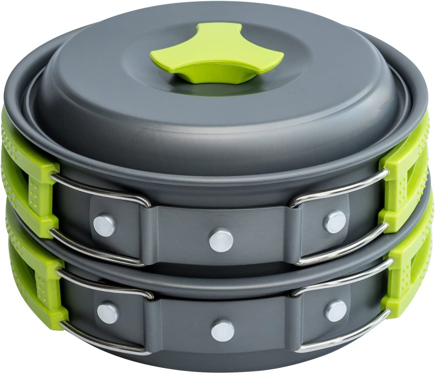 MalloMe Camping Cookware Backpacking Mess Kit