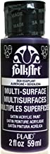 FolkArt Multi-Surface Paint in Assorted Colors (2 oz), 2930, Eggplant