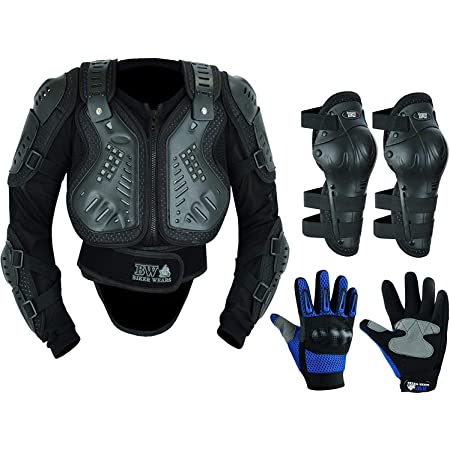 Kids Children/'s Motorbike Motorcycle Protective Motocross Body Armour Chest Protector Guard Jacket Dirt bike Racing Safety Armour