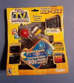 Original Pac Man Arcade Classics Namco Plug & Play TV Games