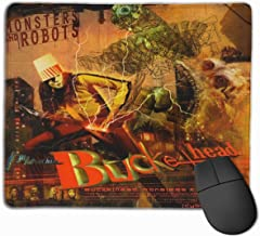 FrankIJohnson Buckethead Monsters and Robots Music Theme,Mouse Pad,Gaming Mouse Pad 10X12 Inch