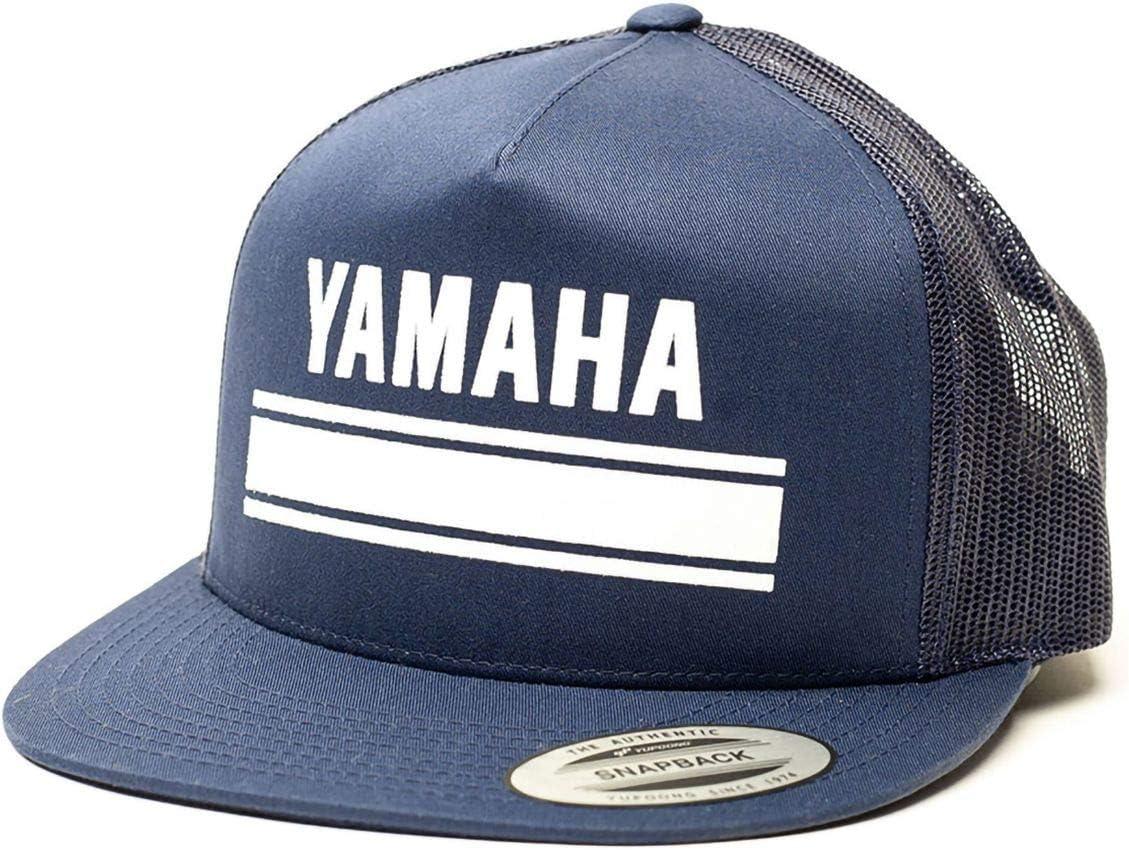 Black/Grey Factory Effex Yamaha Legend Snapback Trucker Hat