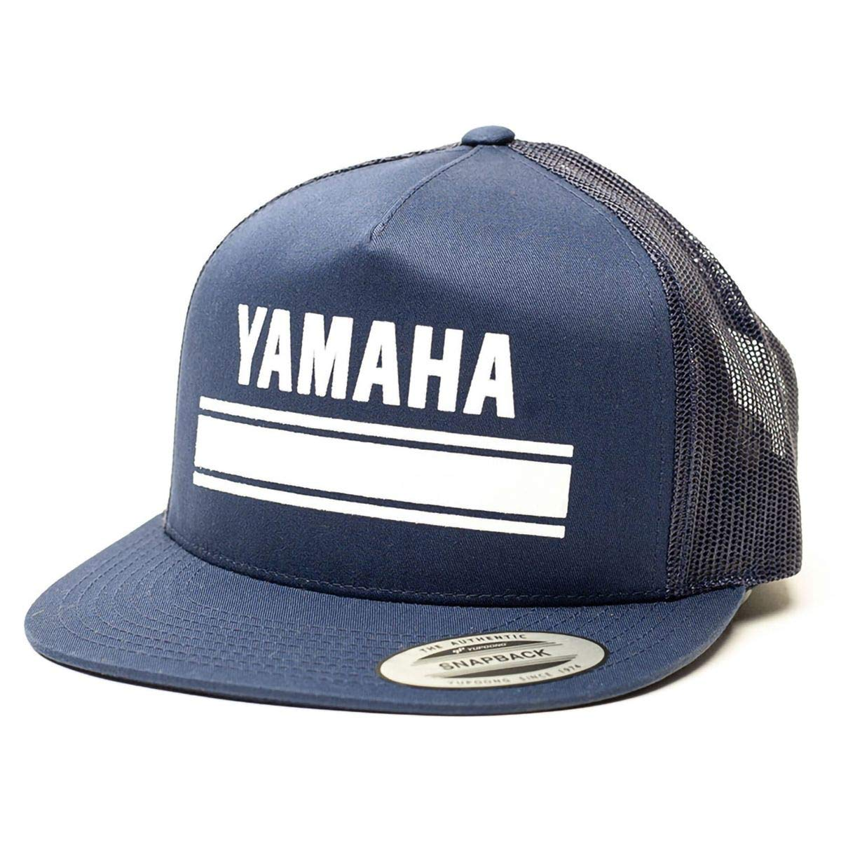 Factory Effex 17-88290  Yamaha Fork Flex-Fit Hat Black, Small//Medium