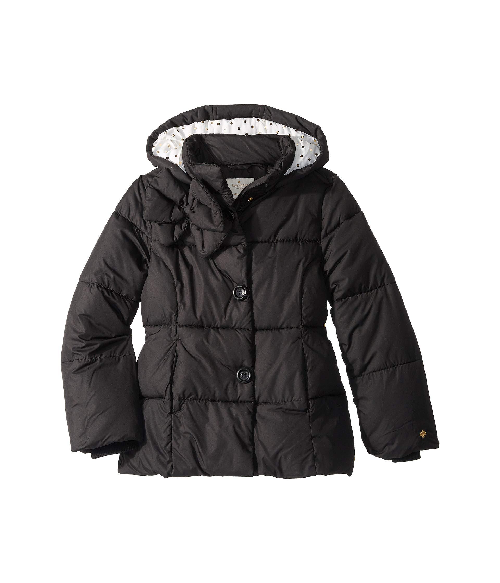 fa55f25a2c11 Kate Spade New York Kids Bow Puffer Coat (Little Kids Big Kids) at ...