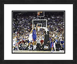 """NCAA University of Kansas Jayhawks Mario Chalmers, Beautifully Framed and Double Matted, 18"""" x 22"""" Sports Photograph"""