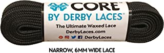 CORE Narrow 6mm Waxed Lace for Figure Skates, Roller Skates, Boots, and Regular Shoes