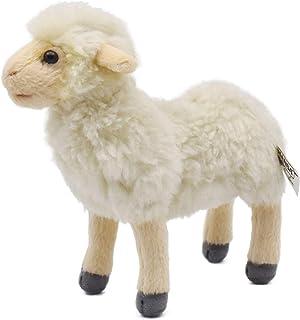 "Hansa Little Lamb Plush Animal Toy, 7"", Cream"