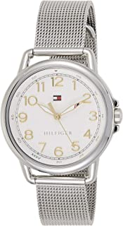 Tommy Hilfiger Womens Quartz Watch, Analog Display and Stainless Steel Strap 1781658