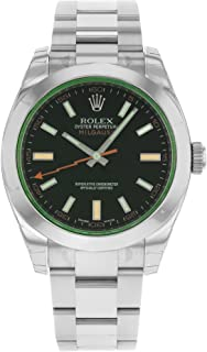NEW Rolex Milgauss Stainless Steel Mens watch 116400 VBKO