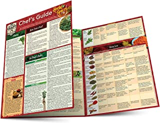 Chef's Guide to Herbs & Spices: a QuickStudy Laminated Reference Guide (Quickstudy Reference Guide)