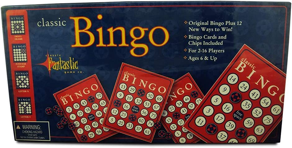 Classic Bingo Game Year-end Luxury goods gift Ma Cards with