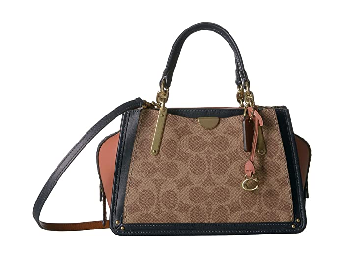 a4e4fe9d1f COACH Coated Canvas Signature Color Block Dreamer 21 | Zappos.com