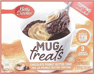 Betty Crocker Mug Treats Chocolate Peanut Butter Cake, 204 gm