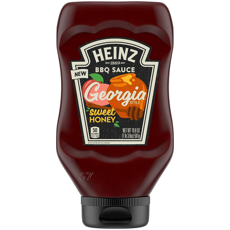 Heinz Georgia Style Sweet Honey 20 BBQ Sauce Max 44% OFF Bottle OFFicial oz
