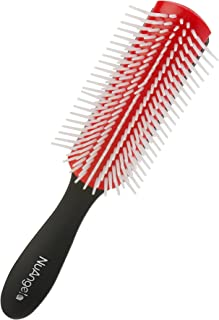 NuAngela Easy Clean Removable Brush Pad Gentle Hairbrush