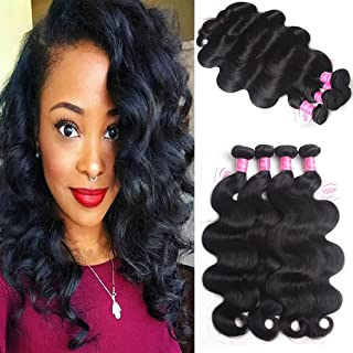 8A Brazilian Virgin Hair Body Wave Remy Human Hair 4 Bundles Deals 22