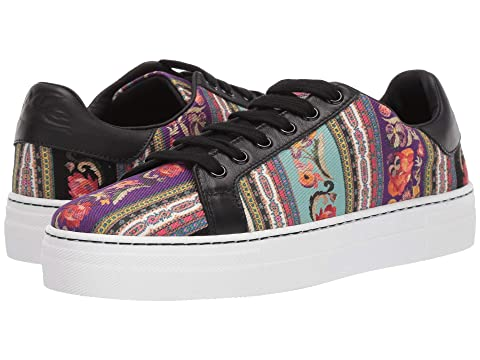 Etro Printed Leather Sneaker