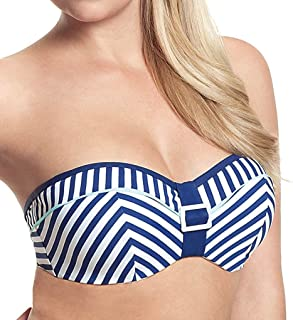 Panache Lucille Women's Padded Underwired Bandeau Bikini Top