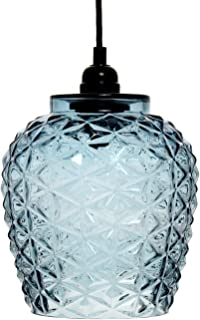 One Couture - Lámpara de techo (cristal), color azul