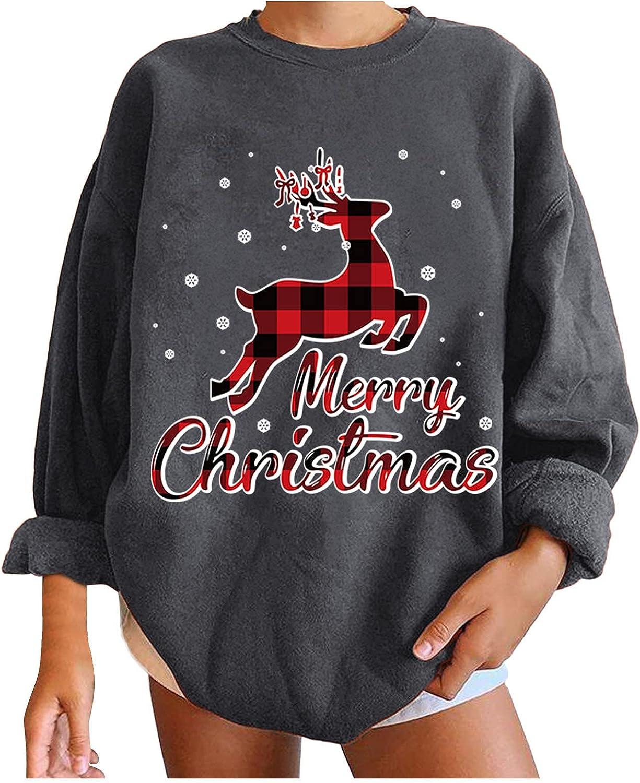Hemlock Women Christmas Shirts Plus Popular popular Max 67% OFF Xmas Size Sweatshirts Pullov