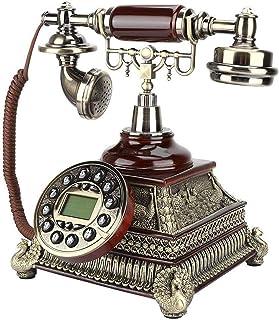 Home Office Decor Landlines Upgrade Antique Telephone European Vintage Telephone Electronic Calendar Retro Landline Home H...
