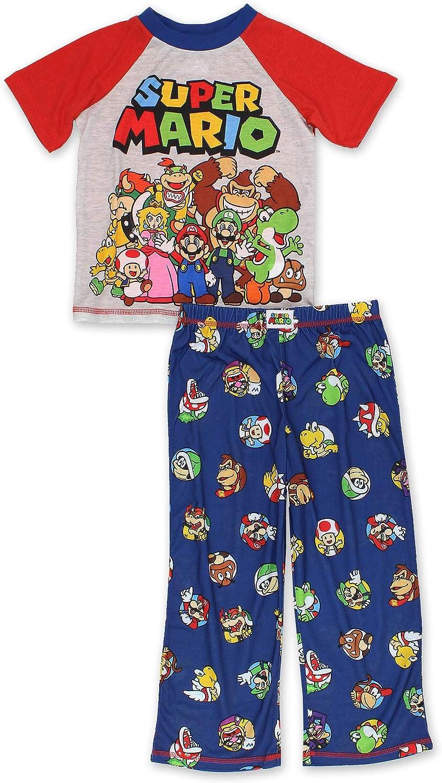 Super Mario Boys Pajamas (Little Kid/Big Kid)