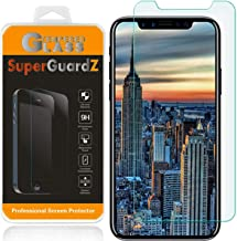 [2-Pack] for iPhone 11 Pro Max/iPhone Xs Max Screen Protector Anti Blue Light Tempered Glass [Eye Protection], SuperGuardZ, 9H, 0.3mm, Anti-Scratch, Anti-Bubble [Lifetime Replacement]