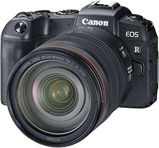 Canon EOS RP Mirrorless Camera with RF 24-105mm F/4L IS USM Lens without Mount - Black