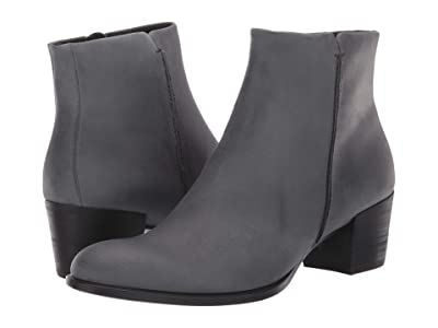 ECCO Shape 35 Stitch Boot (Magnet Nubuck Leather) Women