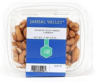 Jansal Valley Roasted Giant Whole Cashews, 6.0 oz