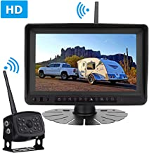 Rohent Digital Wireless Backup Camera High-Speed Observation System for Car/Pickup/RV/Truck/Trailer/Camper/5th Wheel with 7