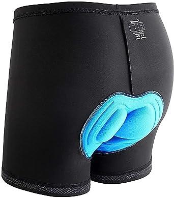 Sportneer Fietsbroek voor heren, onderbroek met 3D-voering, fietsbroek, shorts, onderbroek met slipvaste broekspijpen, zweetafstotend