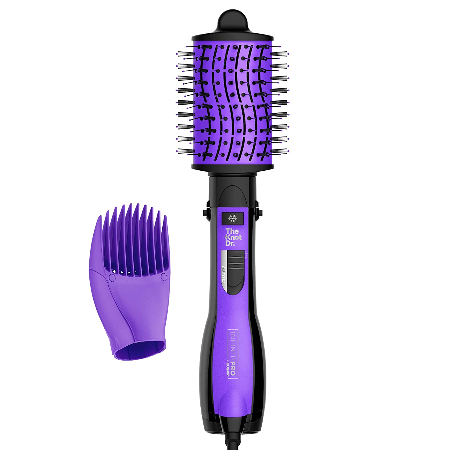 INFINITIPRO BY CONAIR The Knot Dr. Max 52% OFF D shopping Brush All-in-One Dryer Wet