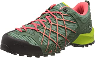 أحذية Salewa النسائية ذات الرقبة المنخفضة المشي لمسافات طويلة، أخضر، 8 أمريكي